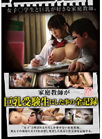 Complete Record of What a Private Tutor Did to a Student with Big Tits Hidden Camera FILE (GG-057) Download