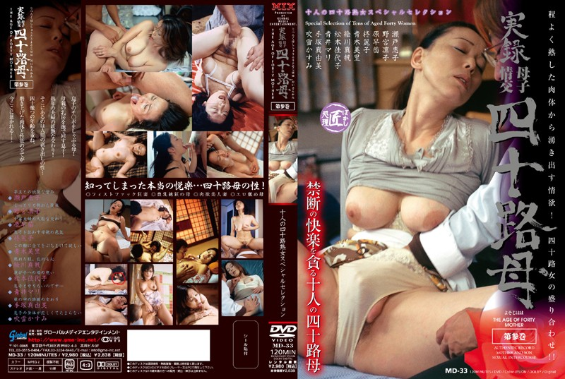 MD-33 Real Footage: Mother and Son Fucking Mother in her Forties 3