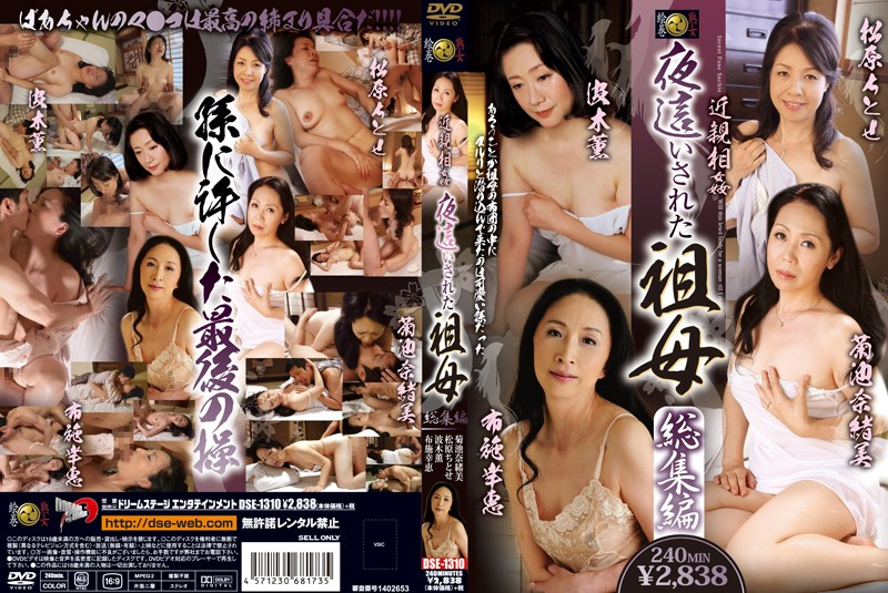 DSE-1310 Incest: Incest: Late Night Visit to My Grandma - Highlights Collection