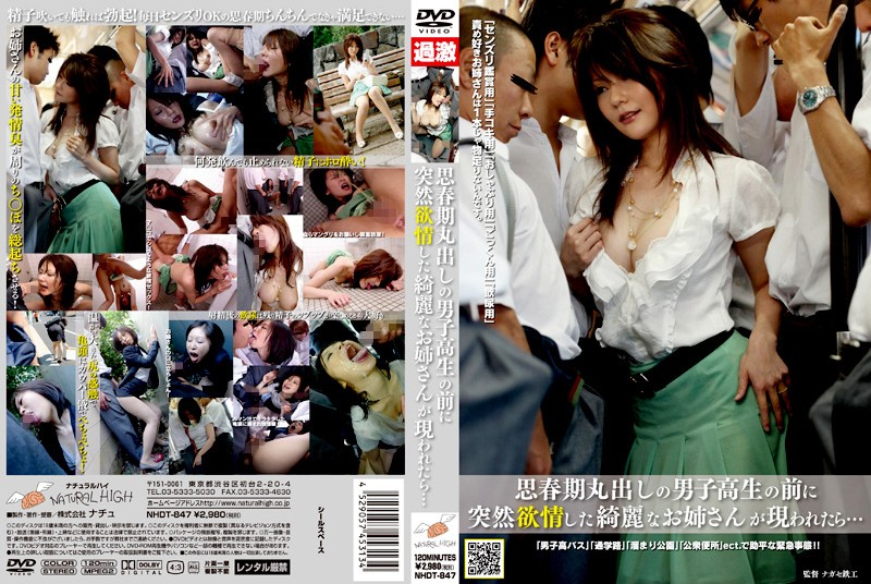 NHDT-847 What Happens When A Horny Beautiful Older Sister Suddenly Appears Before An Adolescent Schoolboy... - Variety, Older Sister, Handjob
