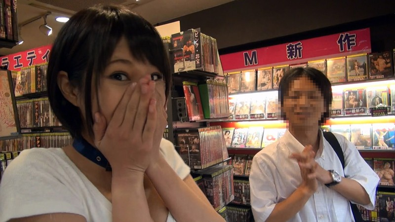 Riku Minato Shows Up In A Video Store Private Room (49ekdv00409)