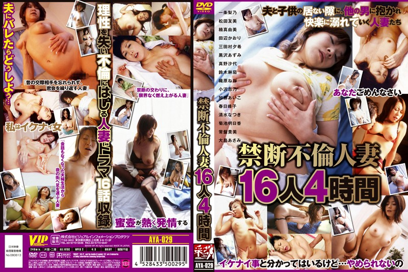 AYA-029 Forbidden Adultery 16 Married Women 4 Hours
