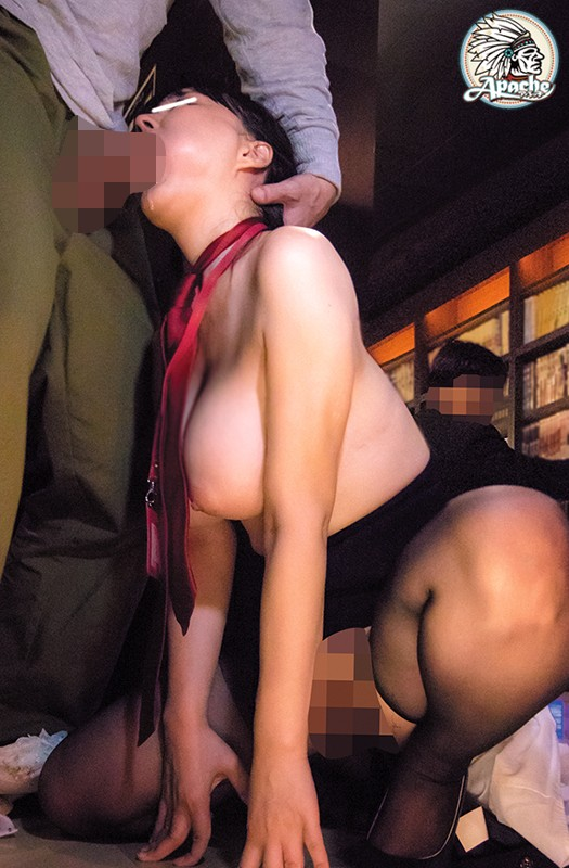store manager clerk tits panties groped