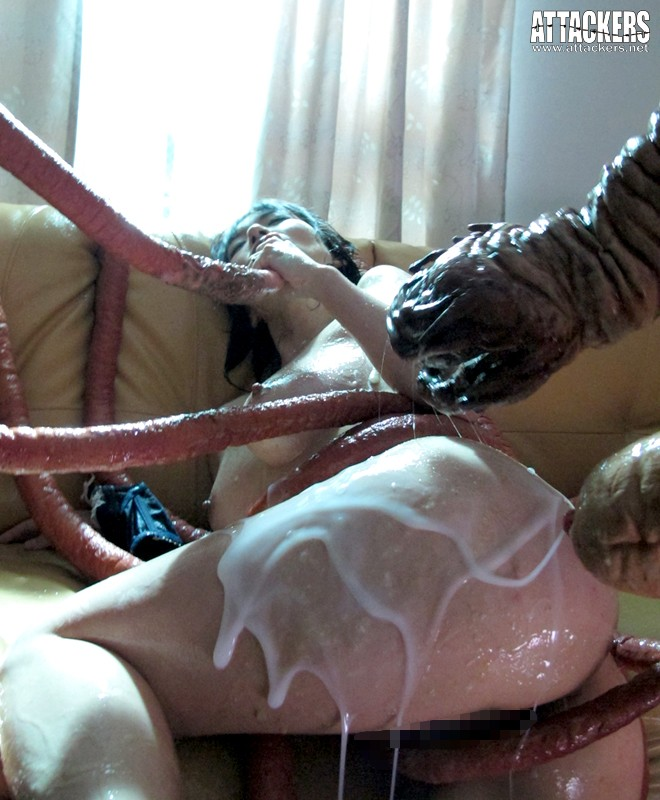 ATID-220 Smothered in Tentacles - Big Tits, Dear Wife, Her Chastity Crumbles Nao Mizuki