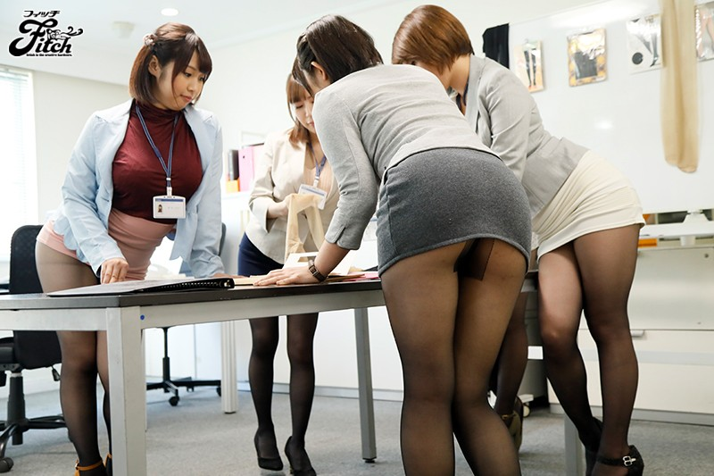 [GCF-003] This Pantyhose Sales Department Filled With Nothing But Tempting Ladies!