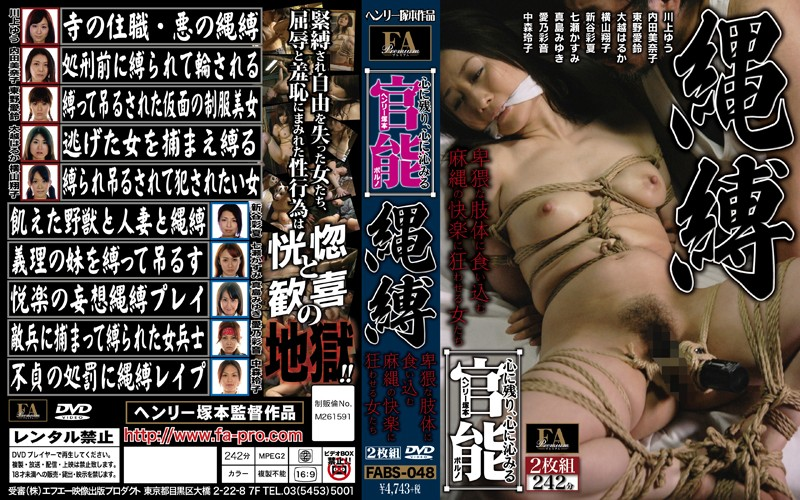 FABS-048 Henry Tsukamoto Functional Pornography Nawabaku That Penetrate The Remaining Heart To Heart