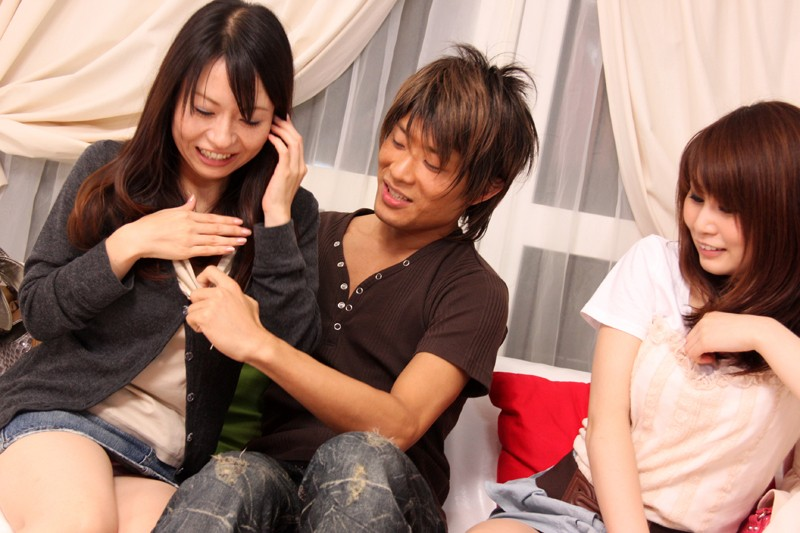 Japanese girls fucked and cummed