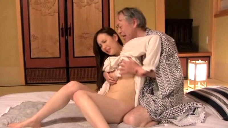 Japanese sex father in law