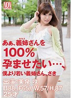 Aah I Want to Make My Sister-in-Law 100% Pregnant: Sister-in-Law Younger Than Me Saki Saki Mizumi 下載
