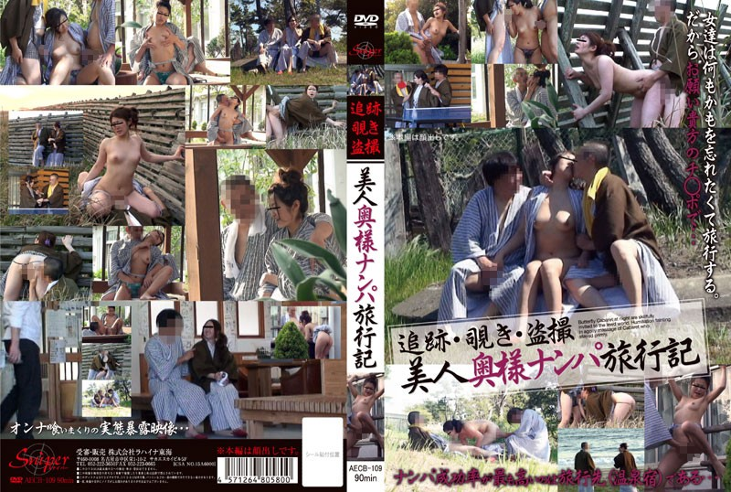 AECB-109 追跡・覗き・盗撮 美人奥様ナンパ旅行記