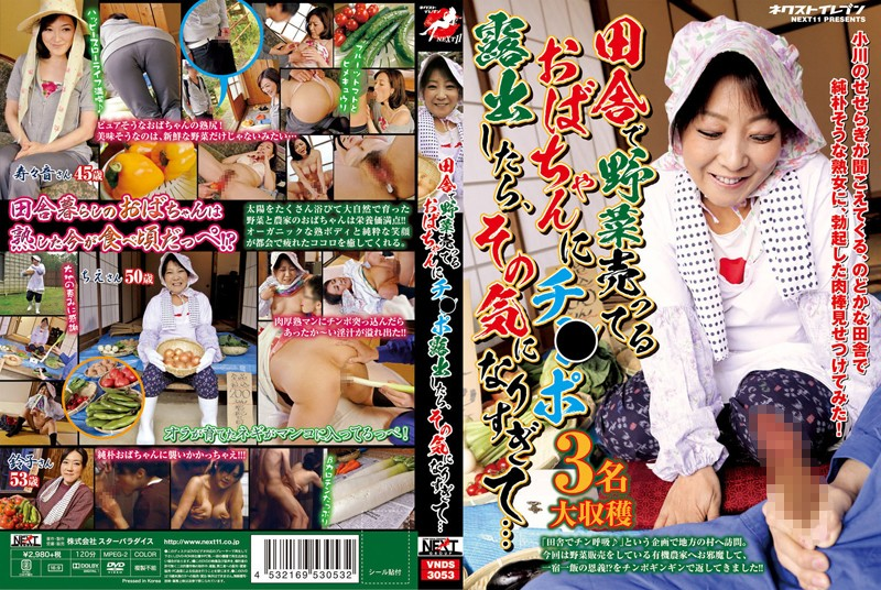 VNDS-3053 When A Man Whips Out His Dick In Front Of A Country MILF Selling Vegetables She Gets Way Too Horny... - Suzune Yagami, Suzuko Miyata, Object Insertion, Mature Woman, Married Woman, Chie Narahashi