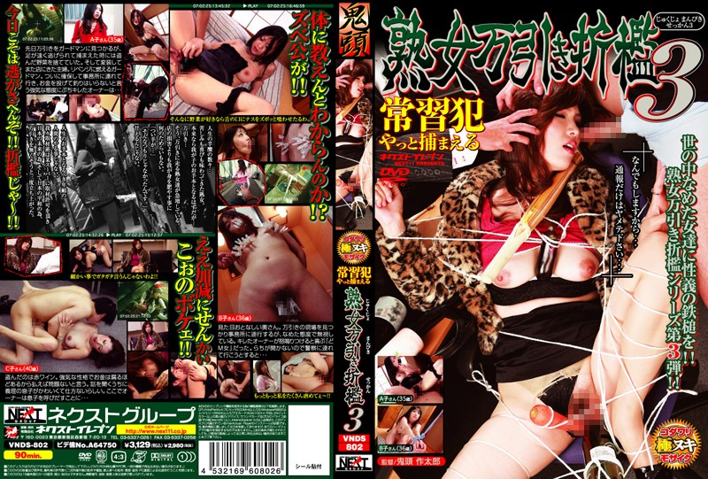 VNDS-802 Mature Woman Spanking the Shoplifter 3