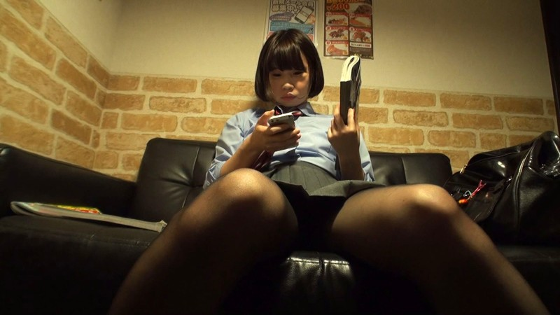 Japanese school director masturbates in the office 6