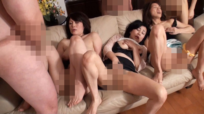 Mature men group masturbation