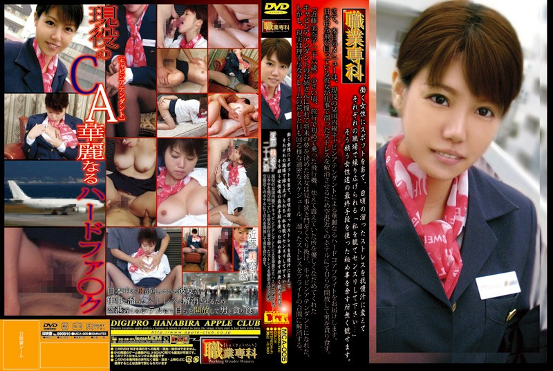MCA-005 Hard Core Flight Cabin Attendant Will Be Brilliant By Minako Kondo Years Twenty-six CA. Domestic Occupation Senka Certain Active