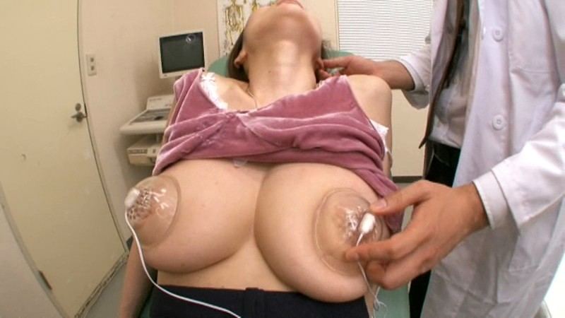 Huge Tit Examination by Touch JULIA