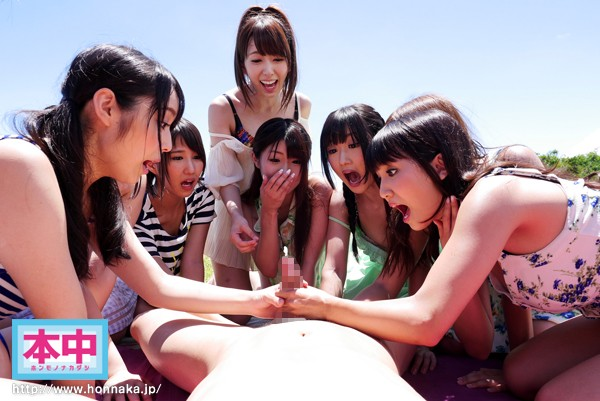 Honnaka 4th Anniversary title!! Beautiful Girl Creampie Island 2014 (hnds00027)