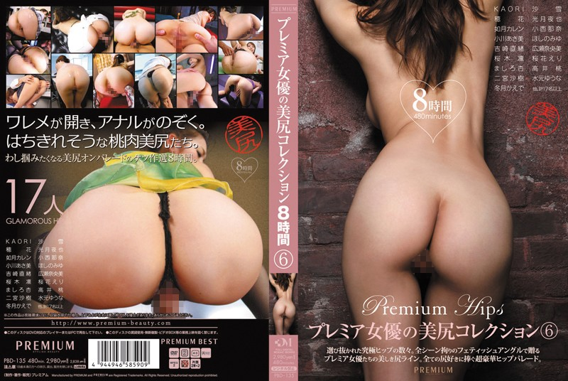 PBD-135 Premium Actress Gorgeous Ass Collection 6