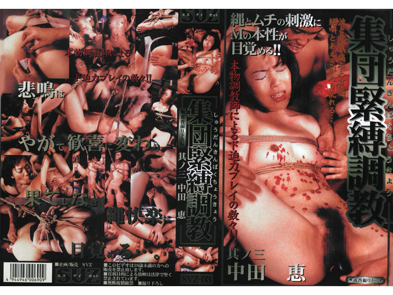 SVZ-03 Group Bondage Training Vol. 3 - Megumi Nakata - Vibrator, Orgy, Featured Actress, Bondage, BDSM