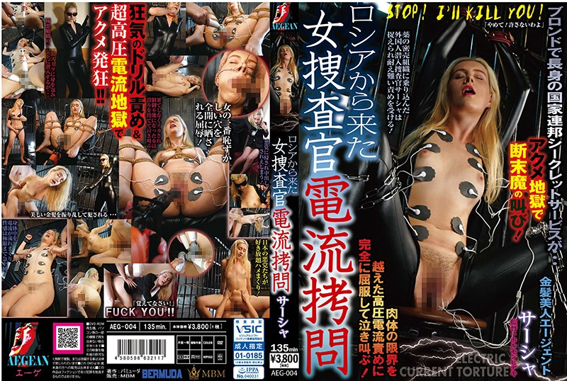 AEG-004 japanese porn Female Detective From Russia Electrified, Sasha