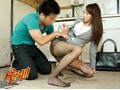 Sex With An Hot Realtor In Black Pantyhose Who Couldn't Hold It During A Showing preview-7