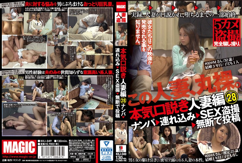 KKJ-049 jav model Real Seduction The Married Woman Edition 28 We Go Picking Up Girls, Take Them To The Hotel, And