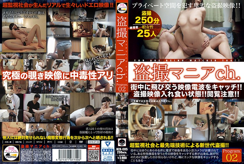 NZK-005 Peeping Mania Channel Program 02 Exposing Many Deviant Perversions That Were Not Meant For