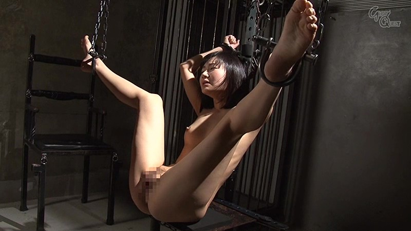 Anal torture tied