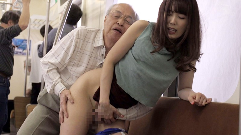 [GVG-902] An Old Man Molester Who Relentlessly Stalks A Married Woman Yui Hatano
