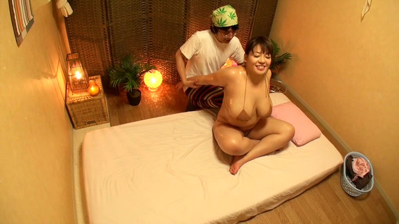 Thai massager with big tits