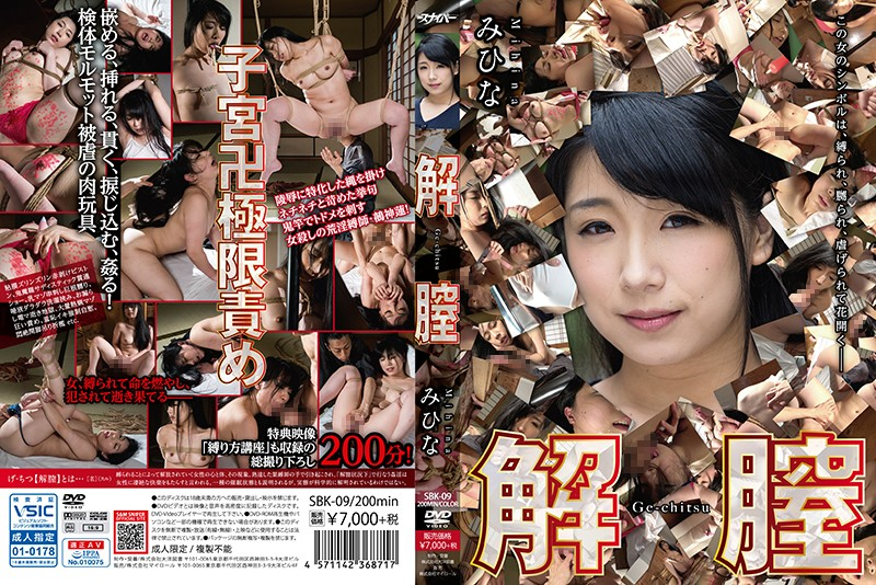 SBK-09 jav video Pussy Destroyed Mihina