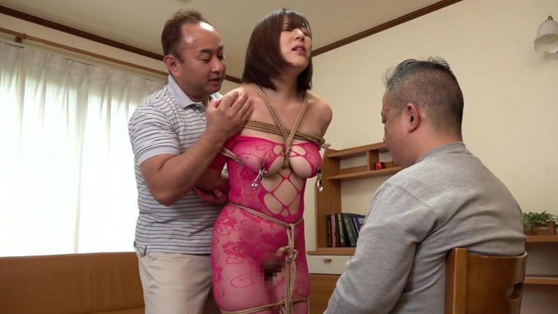 [XRW-783] Her Husband Was Unable To Move A Muscle, And So He Had To Watch While His Voluptuous Wife Got Fucked Over And Over Again - Rina Otomi
