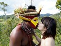"""(1avop00108)[AVOP-108] """"The Kingdom Of The Wild"""" 2015 Kanon Tachibana Shows The Way How Ancient Japanese Natives From 50,000 Year Ago Had Sex! Download 6"""