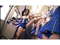 Steamy Cheer Girls. Cheer Shorts Humidity 200%... Forced To Ejaculate In A Crowded Bus By The Peepism Of The Steamy College Girls After Sports! preview-9