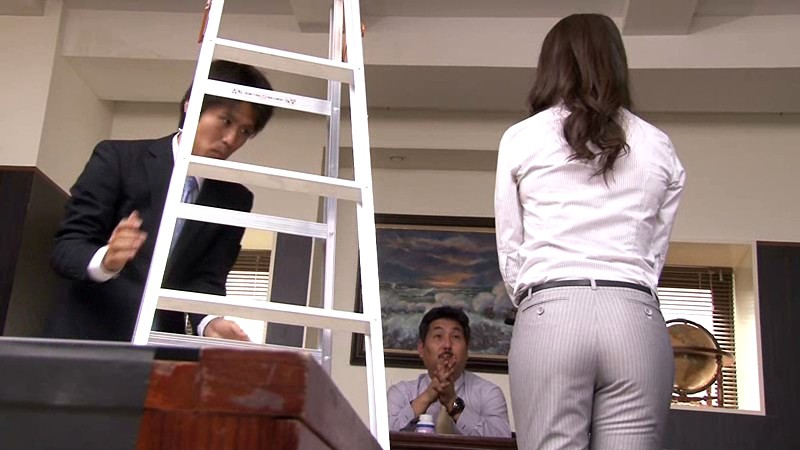 FSET-386 Studio Akinori Highly Educated Woman's Suits Gets Torn During Work. I Pretend To Help Her Hoping To Get Some Reward - big image 1