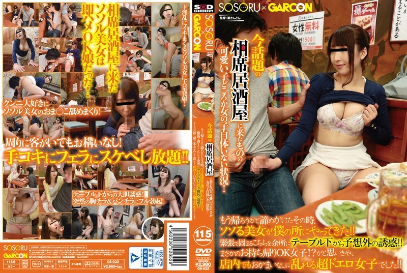 GS-022  Erina Sugisaki Miho Furuya I Went To One Of Those Trendy Restaurants Where They Sit You Next To Girls, But Not Only Were There
