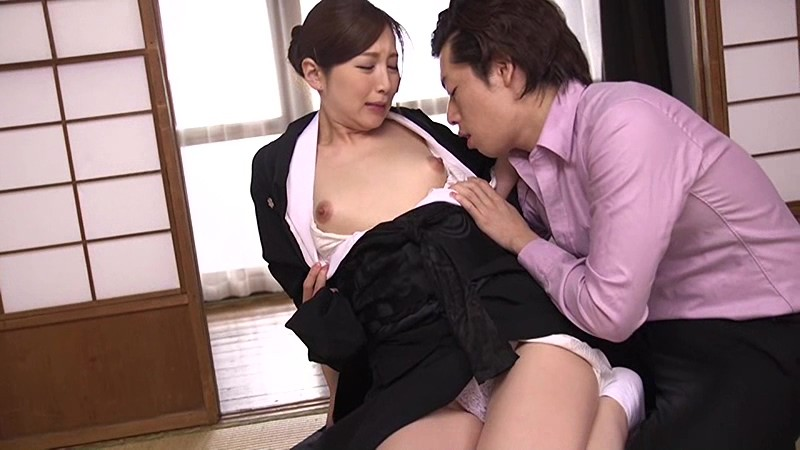 HBAD-328 - It Is Fucked In Front Of A Portrait Of Deceased Person  Mourning Widow Aki Sasaki To Climax Many Times In Others Stick - Hibino big image 2