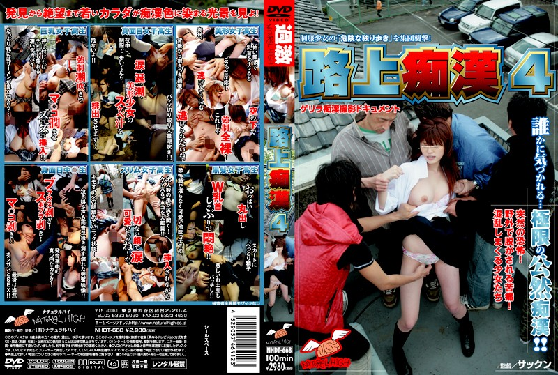 NHDT-668 Public Molesting 4 - Squirting, Reluctant, Outdoor, Groping