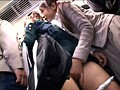 Molestation OK! Girls: Lesbian Special 2 Exciting Hot Schoolgirls On The Crowded Train With A Kiss preview-4