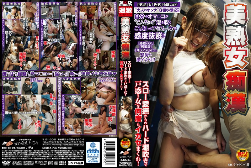 NHDTA-732 Beautiful Mature Woman Molester From Slow Caresses To Hard Squirting, We Get These Bashful