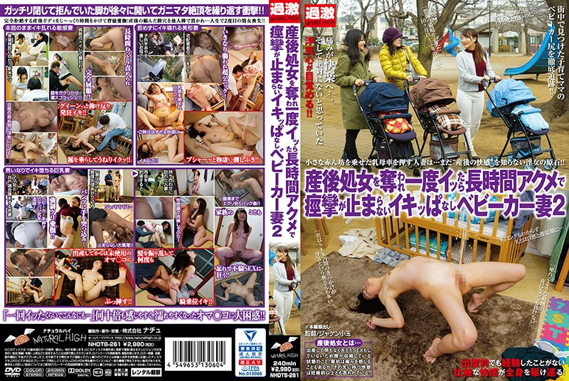 NHDTB-261 A Married Woman With A Stroller Who Hasn't Had Sex Since Giving Birth Can't Stop Trembling And Orgasming 2