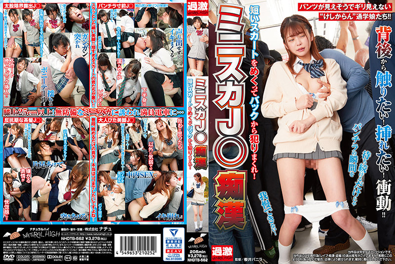 NHDTB-562 japan porn Miniskirt High School Groping, Fucked From Behind With Her Short Skirt Turned Up