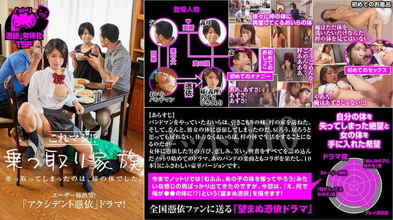 NTTR-010 japanese porn movie Possession 10 Are You Serious!? The Possessed Family