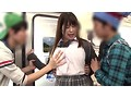Sexy Ass Babe Stuck In The Train Door At The Mercy Of Horny Brats preview-5