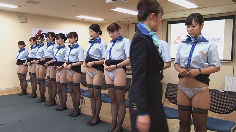 Pissing girls in uniform