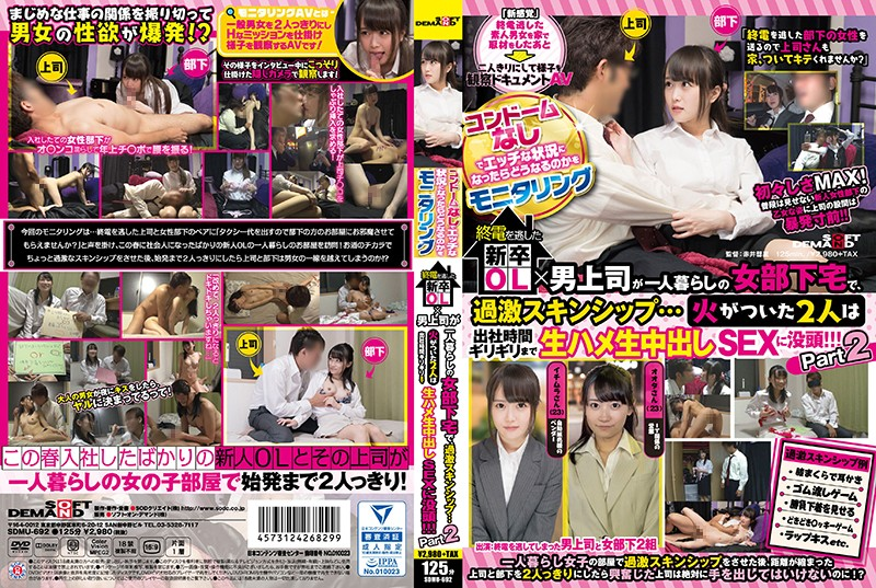 SDMU-692 We Conducted A Survey Of What Would Happen When A Situation Got Hot And Erotic But No