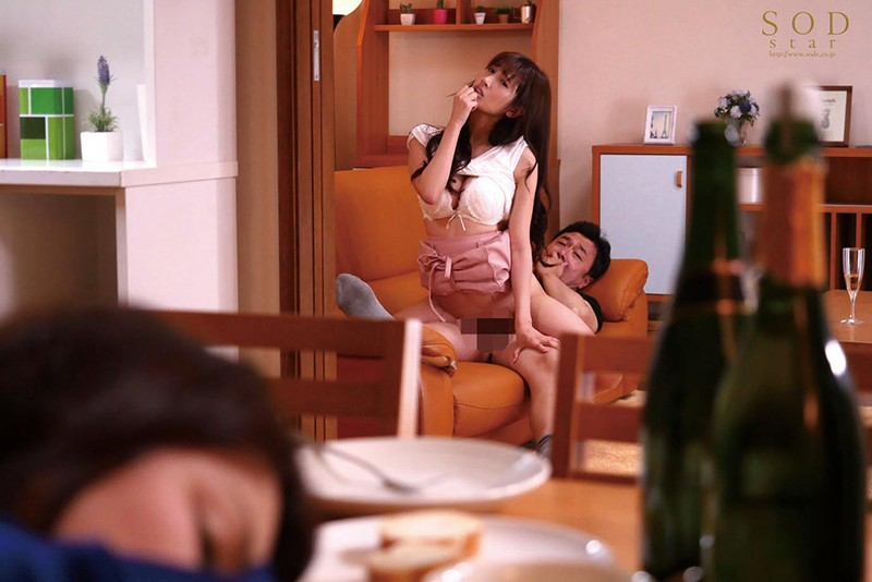 STAR-989 Misaki Enomoto My Wife's Friend Came Over To Stay For 2 Days And 1 Night, And She Secretly Whispered Dirty Talk Into My Ear To Lure Me To Temptation As We Had Quiet Infidelity Cuckold Sex