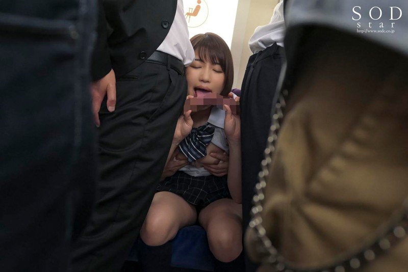 STARS-105 A Young Girl In A Summer Outfit Gets Molested On The Train, And Seems To Be Enjoying It