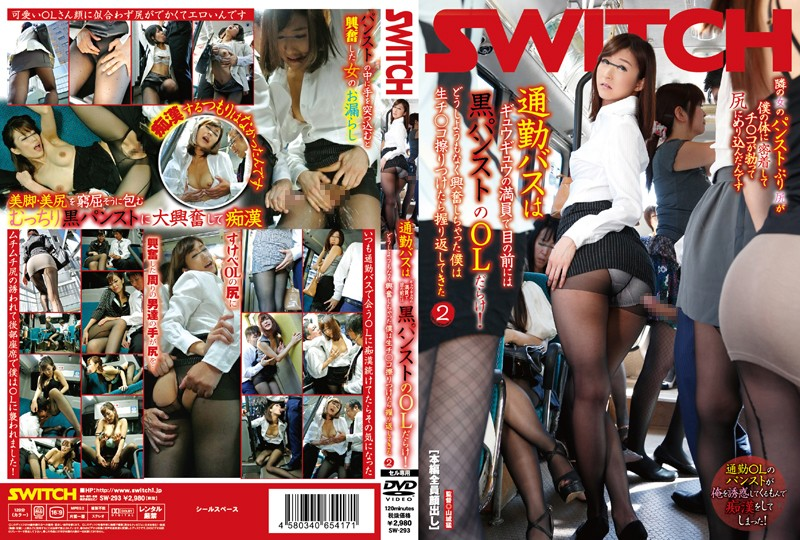 SW-293 The Bus To My Workplace Is Always Filled With Office Ladies With Sexy Pantyhose Legs! I