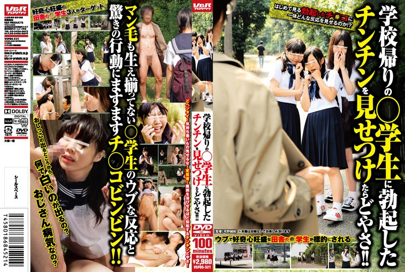 VSPDS-521 What Happens When We Show Students On Their Way Home Our Hard Cocks!! - Amateur